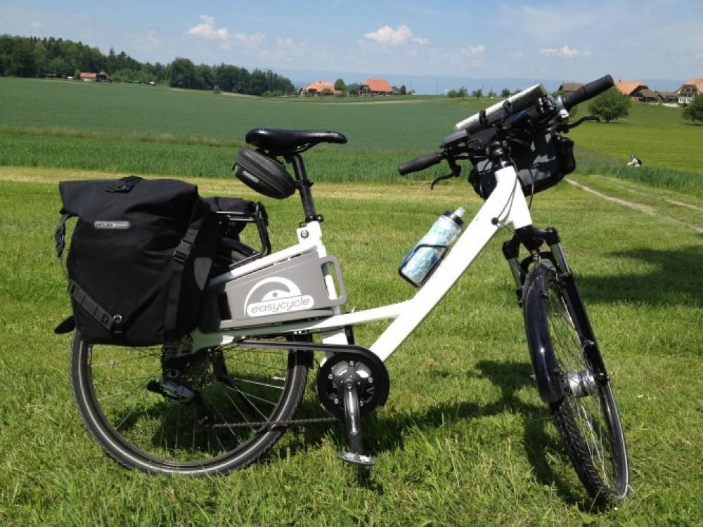 Un week-end à deux en vélo électrique entre Fribourg et Berne.