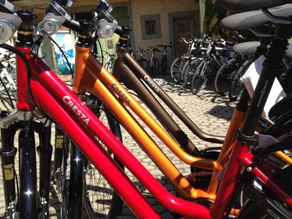 De belles couleur sur des vélos électriques ? Possible avec Cresta et TDS !