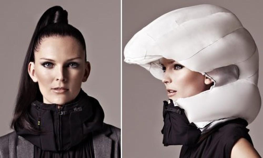 Hövding : Le casque qui ne décoiffe pas !