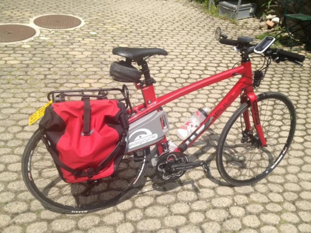 102 km - Givisiez - Gilly en TDS Impuls Race et avec le GPS Mio