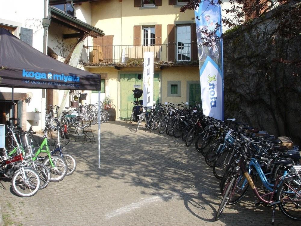 Easycycle Gilly vous livre vos vélos pendant les vacances des magasins de Lausanne et Genève !