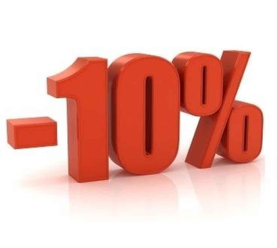 10% de rabais sur deux grandes marques !