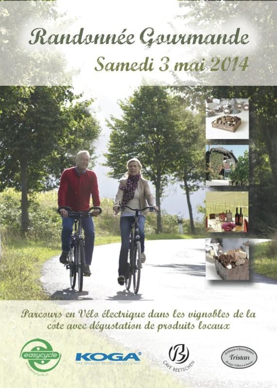 Randonnée gourmande - samedi 3 mai - INSCRIPTIONS SUR PLACE POSSIBLES !