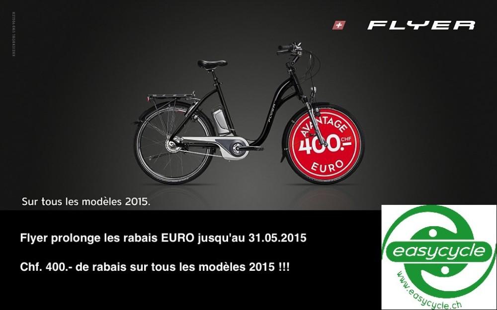 Chf. 400.- d'Euro bonus sur tous les modèles 2015 - prolonguation jusqu'à fin mai 2015 !