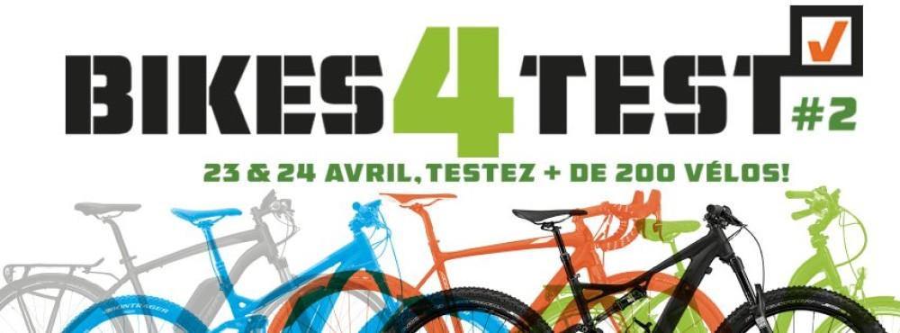 Bikes4Test, c'est aujourd'hui !