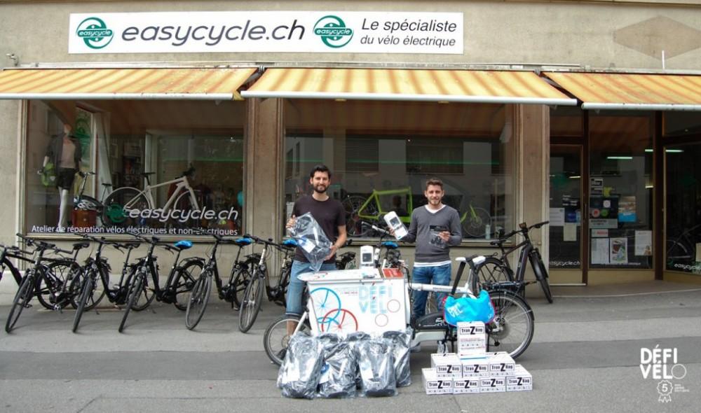 Easycycle soutient Défi Vélo