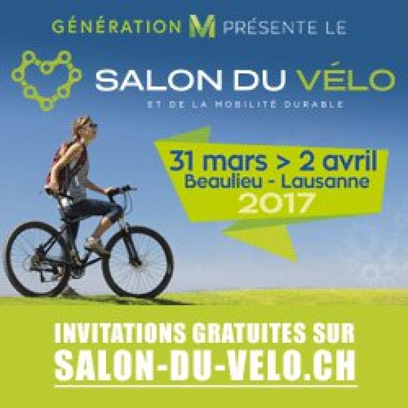 Venez nous voir au Salon du Vélo à Beaulieu, Lausanne