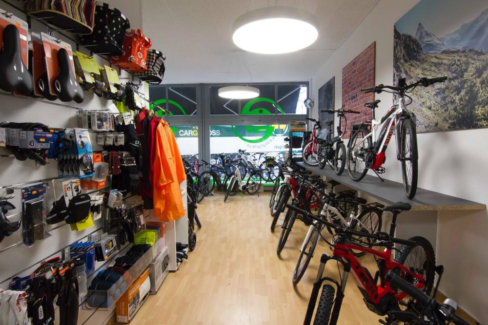 Notre magasin easycycle Aïre tout beau tout neuf