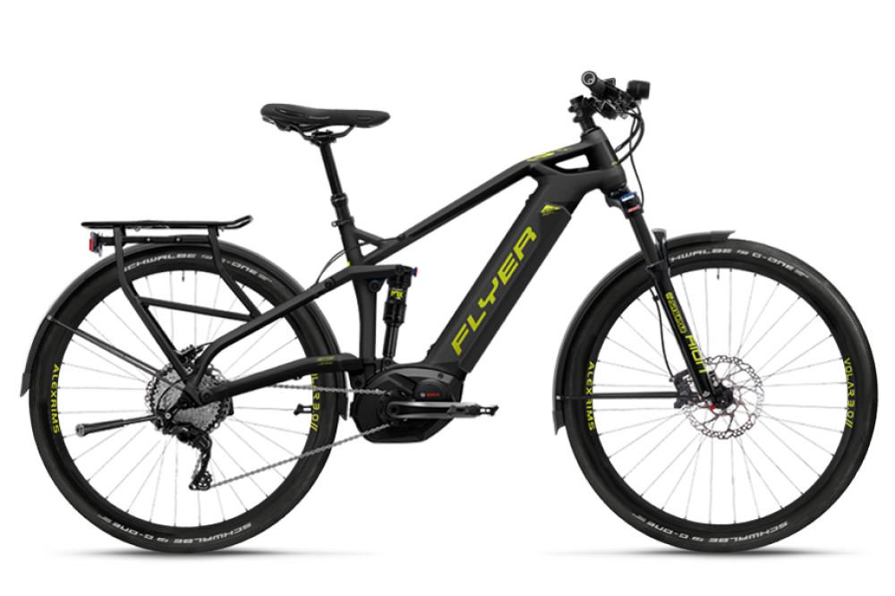 Nous avons reçu le Flyer Uproc3 4.15, le SUV du vélo électrique